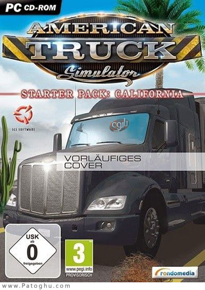 دانلود American Truck Simulator Heavy Cargo Pack برای ویندوز