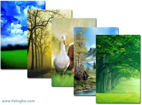 مجموعه عکس های پس زمینه ی جدید و بسیار زیبا از طبیعت برای گوشی های موبایل