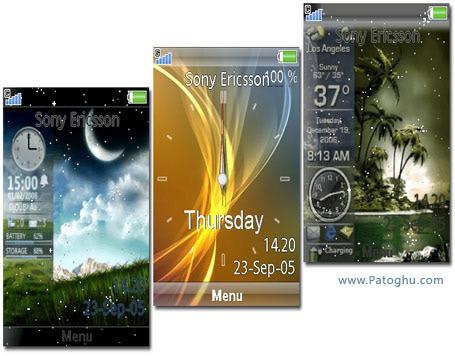 سه تم جدید و فوق العاده زیبا برای گوشی های سونی ایکسون سری C
