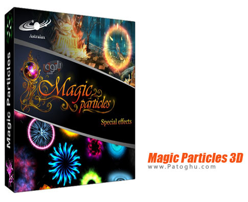 نرم افزار Magic Particles 3D