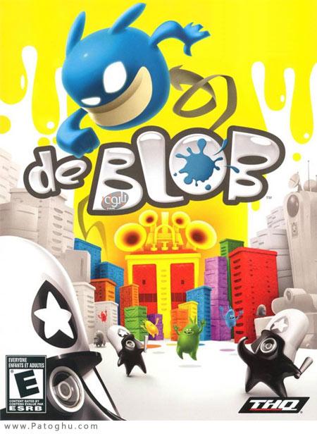 دانلود بازی de Blob شهر رنگی برای کامپیوتر