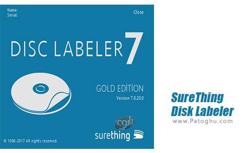 دانلود SureThing Disk Labeler Deluxe Gold برای اندروید