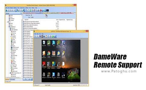 دانلود DameWare Remote Support برای ویندوز