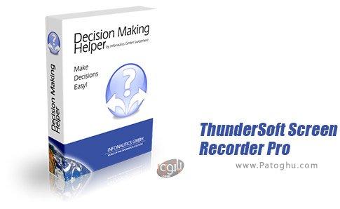 دانلود ThunderSoft Screen Recorder Pro برای ویندوز