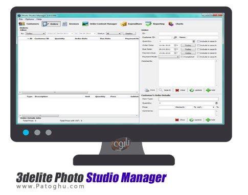 نرم افزار مدیریت عکس ها 3delite Photo Studio Manager