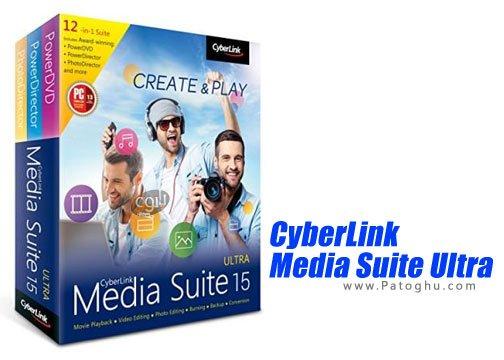 CyberLink Media Suite Ultra - مجموعه نرم افزار سایبر لینک