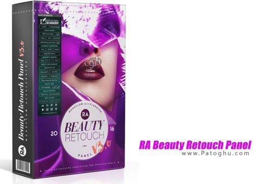 روتوش حرفه ای عکس ها RA Beauty Retouch Panel