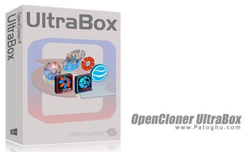 OpenCloner UltraBox - مجموعه ابزار های رایت دیسک