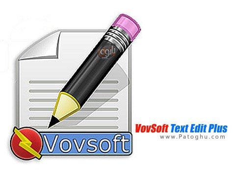ویرایشگر متن VovSoft Text Edit Plus