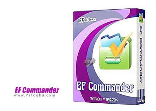 مدیریت فایل ها و پوشه ها با EF Commander