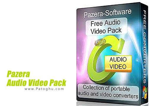 Pazera Audio Video Pack - مجموعه ابزار های مبدل ویدیو و صوت