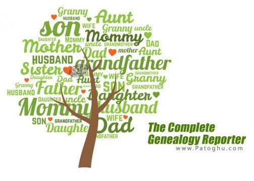 ساخت شجره نامه با The Complete Genealogy Reporter