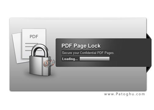 رمز گذاری صفحات پی دی اف PDF Page Lock