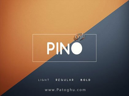 فونت انگلیسی Pino Font