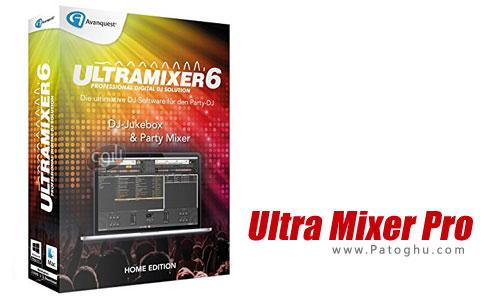 ویرایشگر فایل های صوتی UltraMixer Pro Entertain