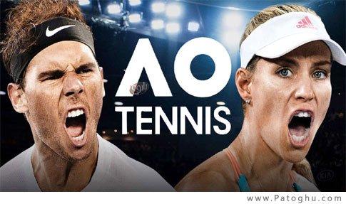 بازی تنیس حرفه ای برای ویندوز AO International Tennis