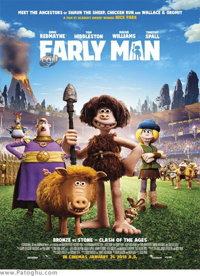 انیمیشن انسان های نخستین 2018 Early Man