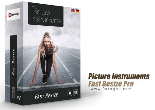 تغییر سایز عکس ها Picture Instruments Fast Resize Pro