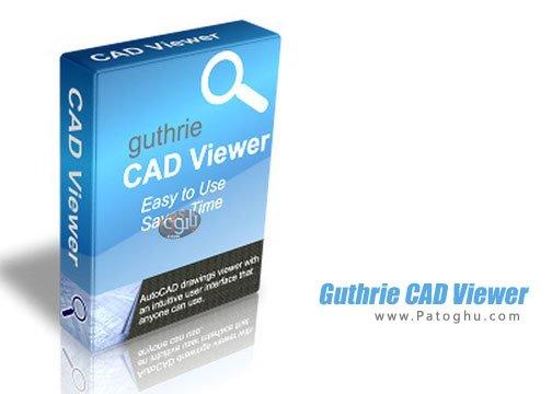مشاهده و ویرایش فایل های کد guthrie CAD Viewer
