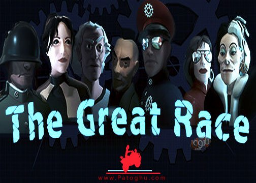 بازی The Great Race برای کامپیوتر