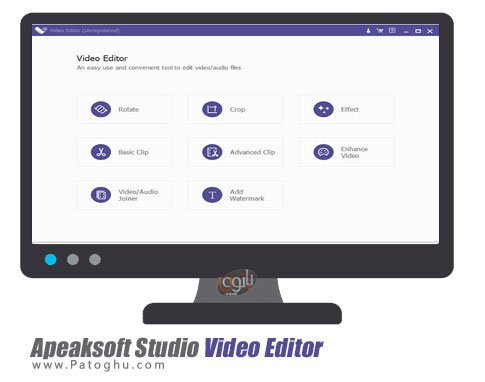 Apeaksoft Studio Video Editor - ویرایشگر فایل های ویدئو