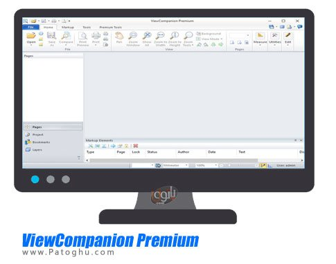 ViewCompanion Premium - مشاهده و تبدیل فرمت فایل های نقشه کشی