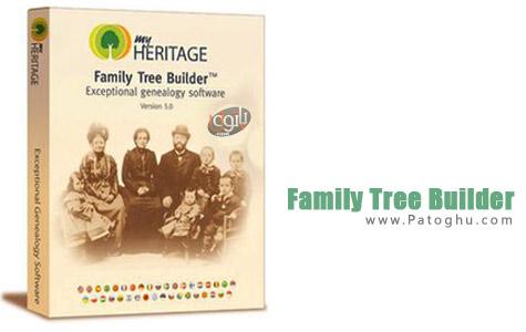 طراحی نمودار درختی خانواده Family Tree Builder v6.0.0