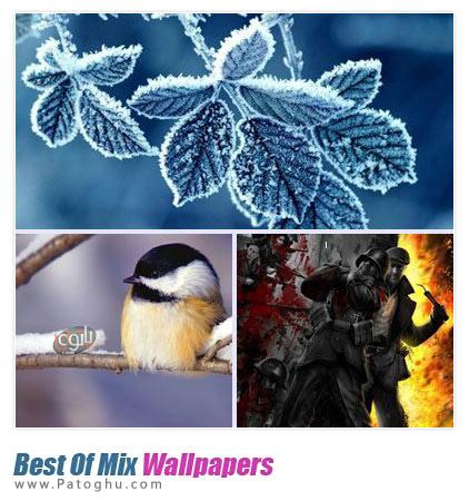 دانلود مجموعه ۱۰۵ تصوير پس زمينه زیبا و دیدنی Best Of Mix Wallpapers