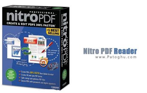 ویرایش و خواندن فایل های PDF با نرم افزار Nitro PDF Reader 2.1.1.4