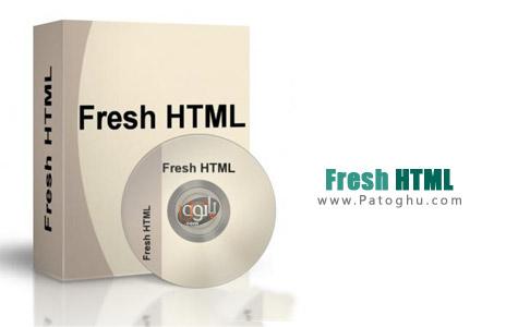ویرایش فایل های HTML با نرم افزار ساده و رایگان Fresh HTML 3.66