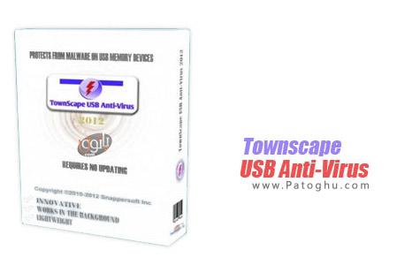 حفاظت از کامپیوتر در برابر فلش های آلوده با Townscape USB Anti-Virus 2012 v3.8