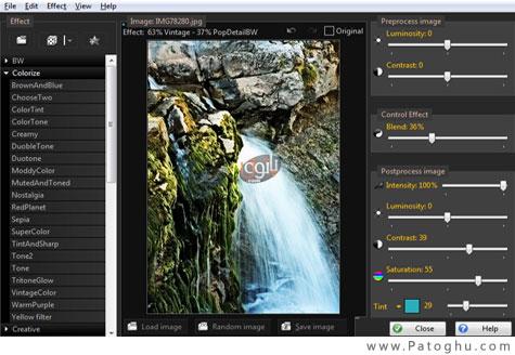 دانلود مجموعه ای از افکت ها برای فتوشاپ با نرم افزار PhotoChances Lab 4.5