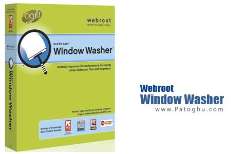 پاکسازی رد پاها و حفظ حریم شخصی در ویندوز با نرم افزار Webroot Window Washer 6.6.1.18