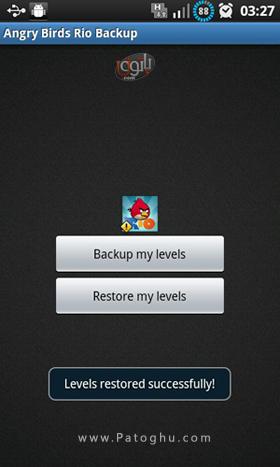 تهیه بک آپ از سیو بازی های آندروید با Games Backup Tool v1.0
