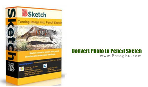 تبدیل عکس به نقاشی با مداد با نرم افزار Convert Photo to Pencil Sketch 6.51