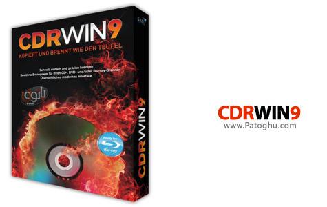 نرم افزاری کوچک و سبک برای رایت سی دی و دی وی دی CDRWin 9.0.11.304