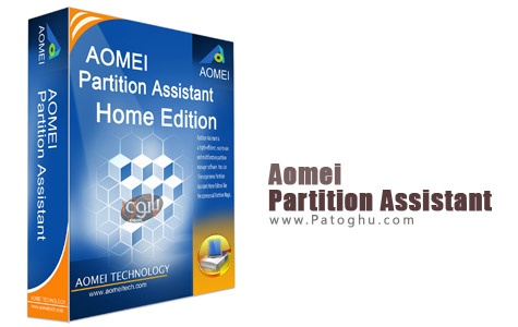 نرم افزار AOMEI Partition Assistant