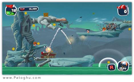 دانلود بازی مهیج و بسیار زیبای Worms Crazy Golf ۲۰۱۱