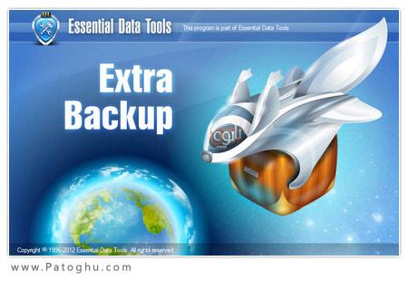 تهیه نسخه پشتیبان از اطلاعات با نرم افزار ExtraBackup 1.7.929