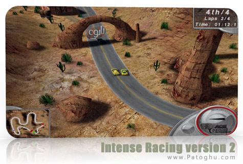 بازی پرهیجان و جذاب مسابقات رالی Intense Racing 2