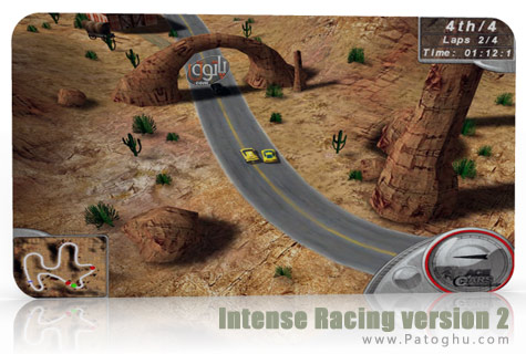بازي پرهيجان و جذاب مسابقات رالي Intense Racing 2