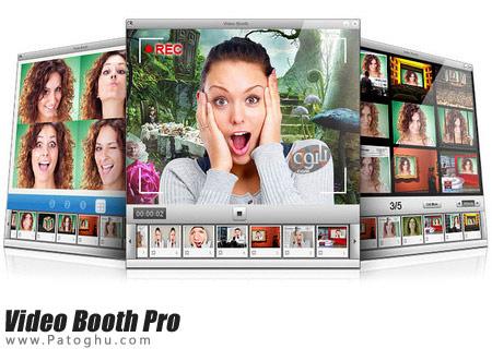افزودن افکت های فوق العاده به وب کم با Video Booth Pro Final