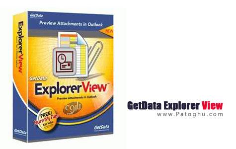 پیش نمایش فایل های مختلف با نرم افزار GetData Explorer View 4.4.2.1134