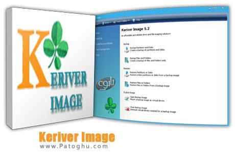 تهیه نسخه پشتیبان از اطلاعات هارد دیسک با نرم افزار Keriver Image v5.2