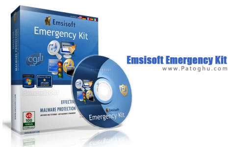 حذف آسان بدافزارها و ویروس ها با آنتی ویروس قدرتمند Emsisoft Emergency Kit 1.0.0.25