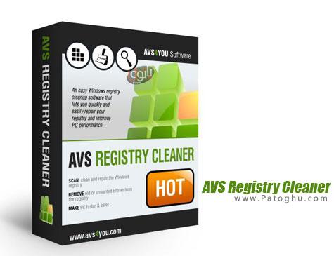 اسکن و پاکسازی رجیستری ویندوز AVS Registry Cleaner 2.3.3.258