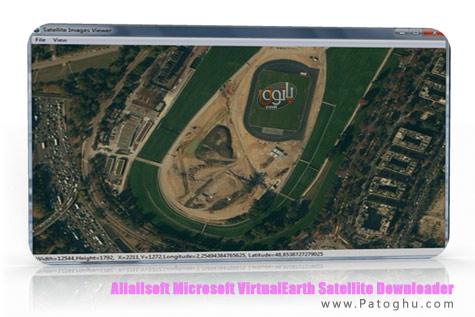 دانلود تصاویر ماهواره ای با نرم افزار Allallsoft Microsoft VirtualEarth Satellite Downloader 7.84