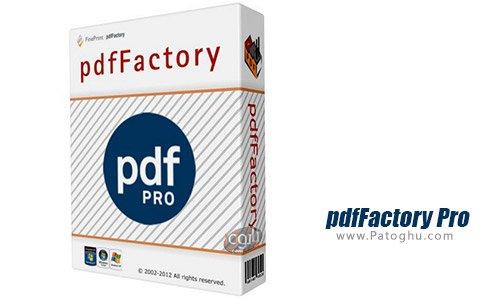 دانلود نرم افزار pdfFactory Pro برای ویندوز