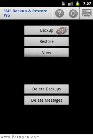 تهیه نسخه پشتیبان از اس ام اس ها برای آندورید با SMS Backup 1.1