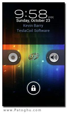 تغییر صفحه قفل گوشی های آندروید با نرم افزار WidgetLocker Lockscreen v2.2.0